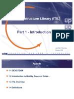 ITIL Part1 Introduction
