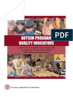 1 Autism Program Indicators