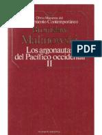 Los Argonautas Del Pacifico Occidental Vol 2 - Bronislaw Malinowski