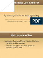Cultural Heritage and the Public Domain-italian Review-fm