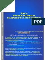 Metodos Para Analisis de Datos Cineticos
