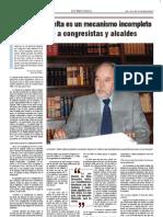 Entrevista Domingo García B. - mar 2011