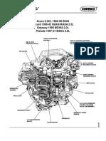 Honda Accord 1998 2002 Service Manual Complete Airbag Valve