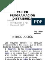 Sem01. Taller Programación Distribuida
