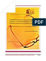 La gastronomia peruana identidad cultural, e interculturalidad en la migracion peruana en Estados Unidos