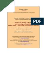 Metho Arrive Semiologie Saussure