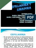 CEPILLADORA Y LIMADORA