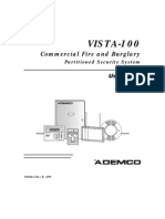 Ademco Vista 100 User Guide