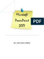 Manual Power Point 2011 - Upes