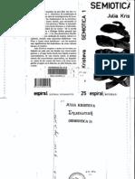 08 Julia Kristeva - Semiotica I