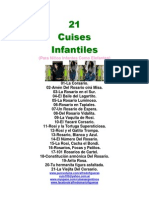21 Cuises In Fan Tiles Corsarios Partituras