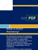 Direct and Tele Marketing