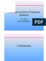 Feedback Control of Dynamic Systems 2008