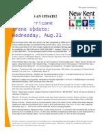 Post Hurricane Irene 08 31 11