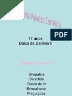 Power Point Joana Carranca