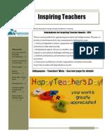Newsletter - Sept 2011