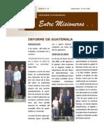 Boletin 42 - Sept 15 2008 - Informe Guatemala