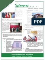 Boletin 41 - Sept 15 2008 - Informe Brasil