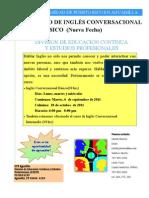 CURSO CORTO DE INGLES CONVERSACIONAL BASICO