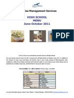 Menu HS Week 1 and 2 June-October
