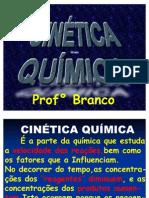 CINÉTICA QUÍMICA - 2º ANO