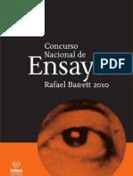 Concurso Nacional de Ensayos Rafael Barrett 2010 - PortalGuarani