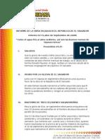 Informe 017 (Septiembre de 2008) de La Obra en Jiquilisco El Salvador-1