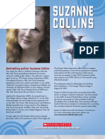 Author Suzanne Collins Bio
