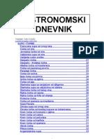 Gastronomski Dnevnik Od Vokija K. - 700 Recepata