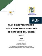 Plan Director 2001