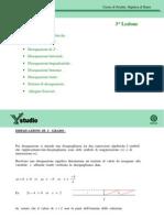 3 Algebra Disequazioni Algebriche