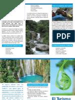 Brochure Turismo