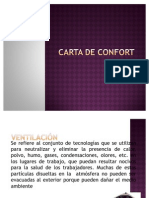 Carta de confort