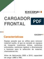 Maquinaria Cargador Frontal