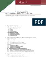 Anon - Evaluacion Y Tratamiento de Los Trastornos Del Lenguaje (en Los Mayores)