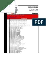 Lista de Precios Email Asia 2010