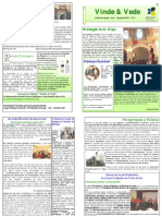 """Publicação Diocesana - """"Vinde e Vede"""" - N.º 6"""