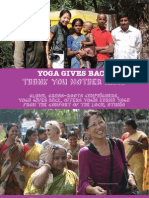 Yoga Magazine USA September 2011