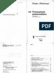 Habermas, Jurgen 1988 Pensamiento Postmetafisico
