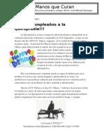 Boletín Quiropráctico Mensual - Septiembre 2011