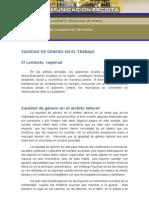 EQUIDAD DE GÉNERO EN EL TRABAJO Borrador act2