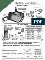 DECT2188 Manual