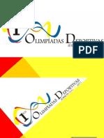 Presentacion Olimpiadas Idipron Intern a Dos 2011
