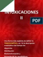 INTOXICACIONES  II