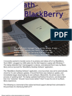 Death of a Blackberry