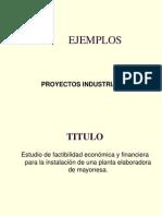 Perfil de Proyectos ales