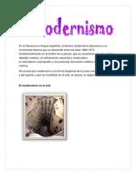 El Modernismo- Centro Literario