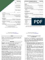 Cedar Bulletin Page - 09-04-11