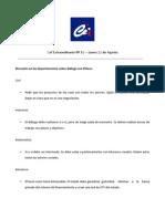 Acta CEF extraordinario número 16