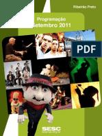 Programação SESC Ribeirão Setembro 2011